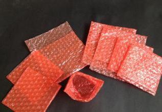 红色防静电气泡袋