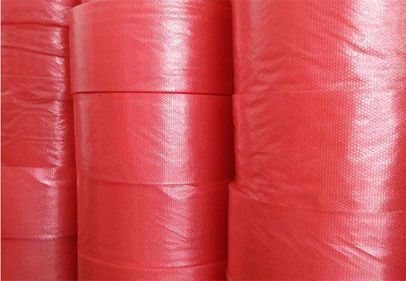 红色抗静电气泡袋